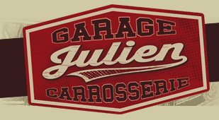 Parebrise new deal garage logo